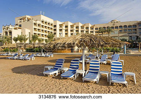 Stock Images of Intercontinental Hotel, Aqaba, Jordan 3134876.