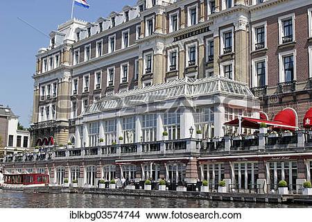 "Stock Photo of ""Luxury hotel InterContinental Amstel Amsterdam on."