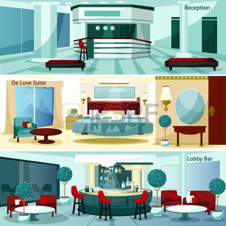 1,134 Hotel Lobby Design Stock Illustrations, Cliparts And Royalty.