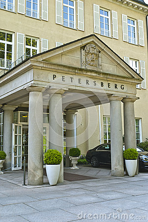Germany, Siebengebirge, Bonn Town Stock Photo.