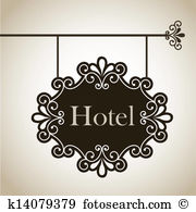 Hotel sign Clipart Vector Graphics. 23,836 hotel sign EPS clip art.