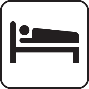 Hotel Motel Sleeping Accomodation Clip Art at Clker.com.