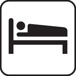 Hotel Motel Sleeping Accomodation Clip Art at Clker.com.