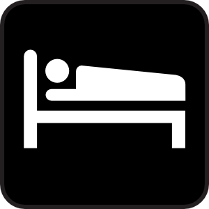 Hotel Motel Sleeping Accomodation 2 Clip Art at Clker.com.