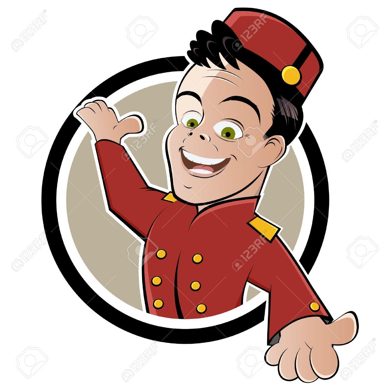 Showing post & media for Cartoon hotel logo.