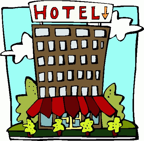 übernachtung clipart  Hotels clipart - Clipground