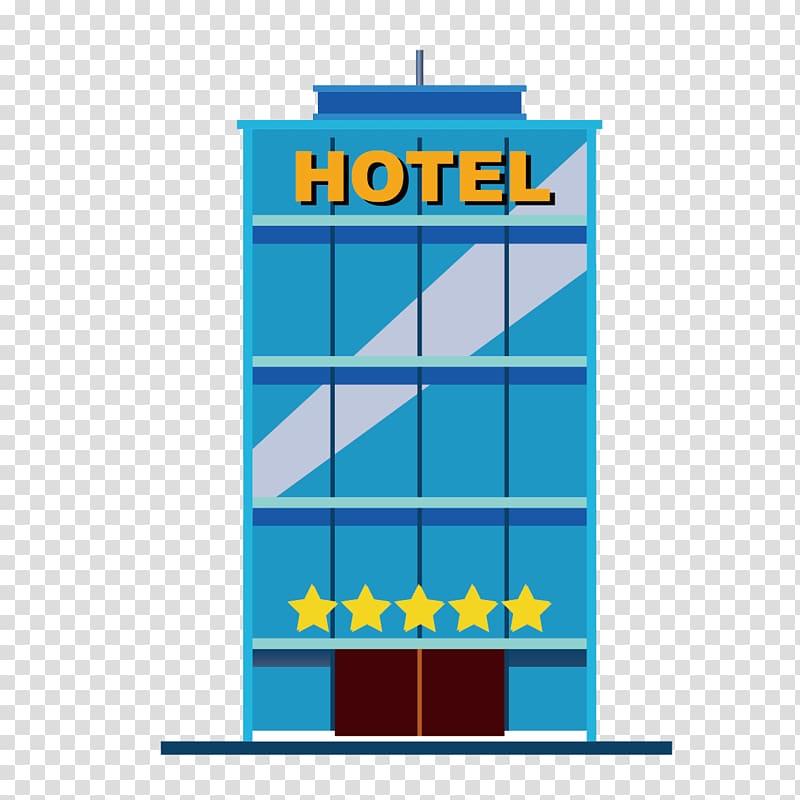 Blue hotel illustration, Hotel Gratis Luxury, hotels.