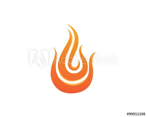 Fire hots logo.