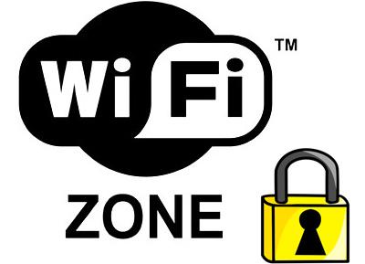 Wifi Hotspot Sign.