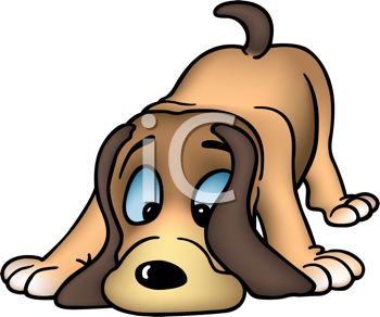 Royalty Free Clipart Image of a Hound Dog #348892.