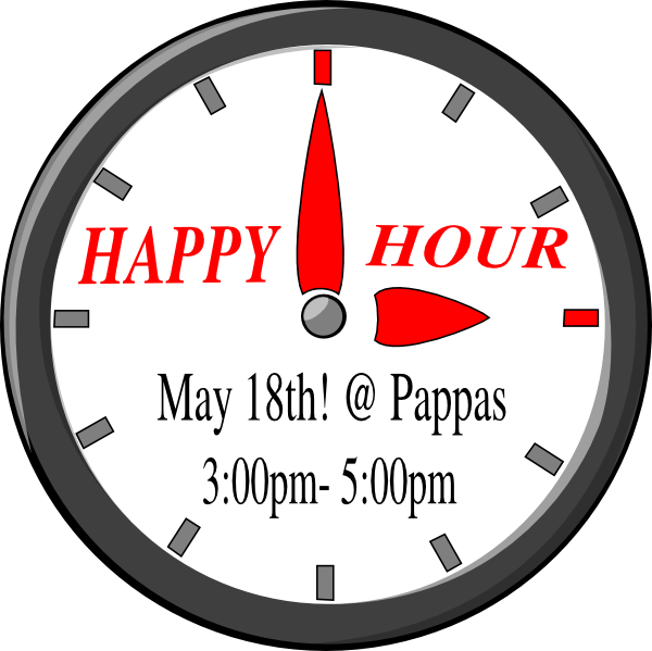Funny Happy Hour Clipart.