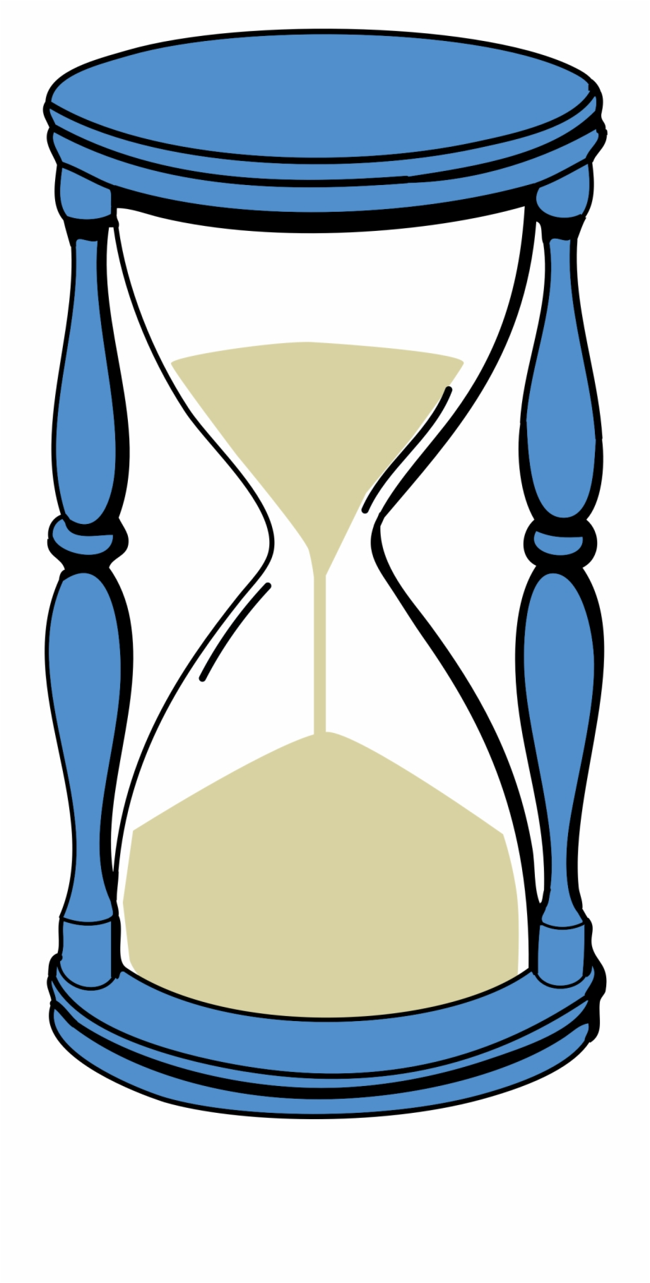 Hourglass Clipart Time Capsule.