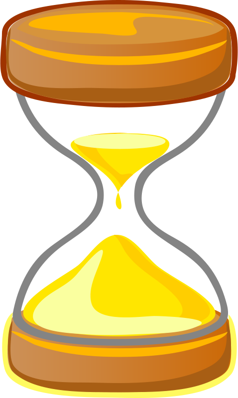 Free Hourglass Clipart.