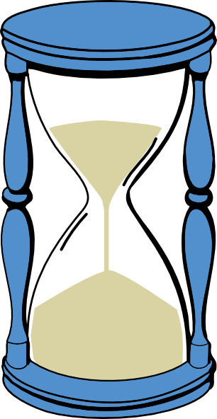 Hourglass clipart free.