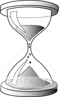 504 Hourglass free clipart.