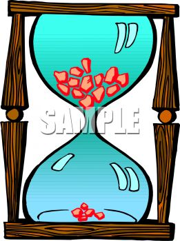 Cartoon Hourglass.
