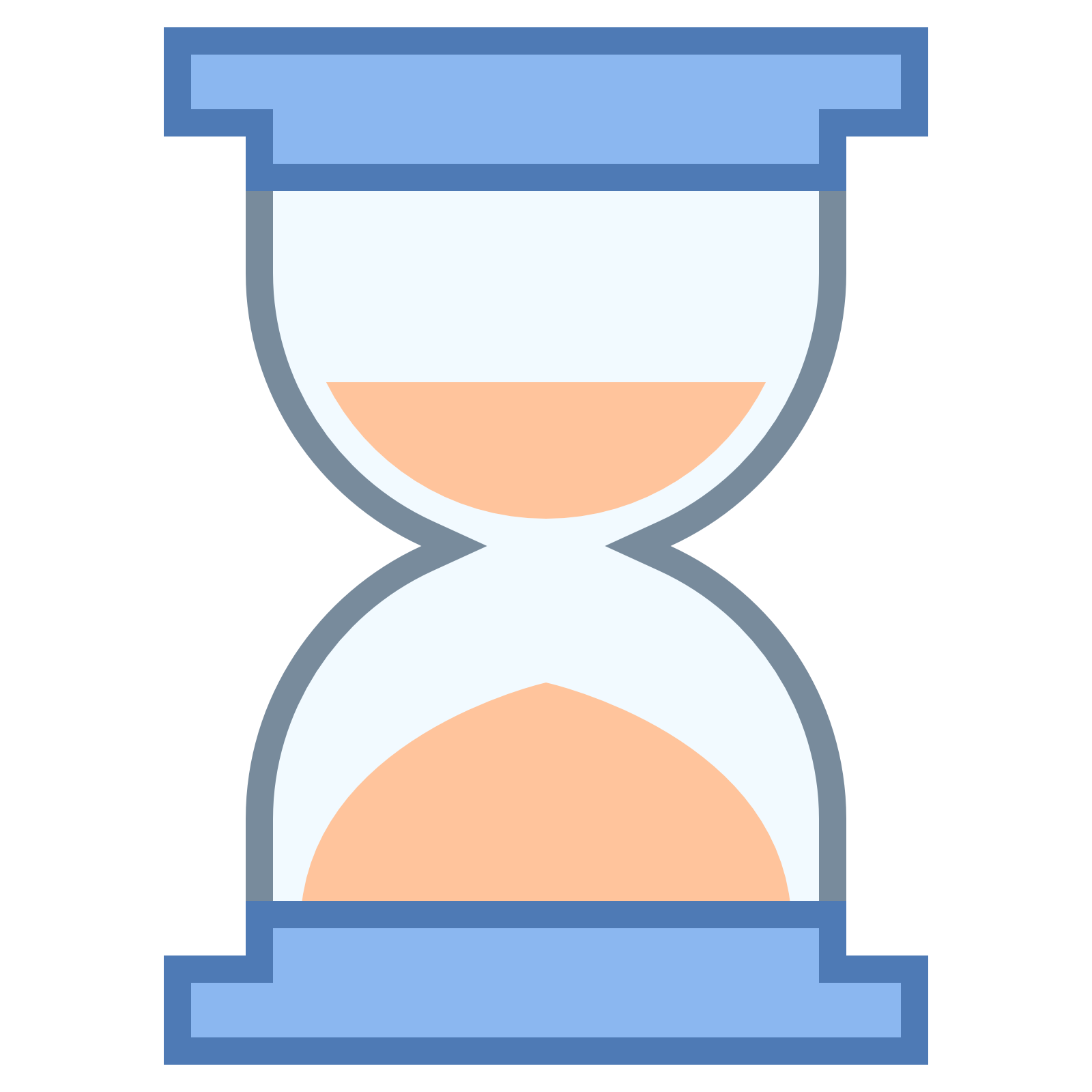 Hourglass half Icons.