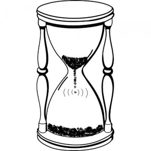 Showing post & media for Hourglass clip art cartoon.
