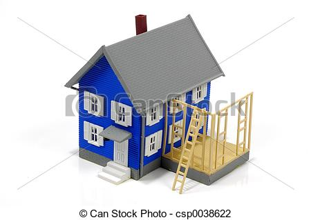 Stock Photo of Home Addition 2.
