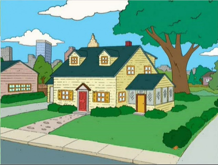 House And Garden Cartoon.
