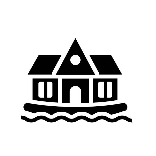 Best Houseboat Illustrations, Royalty.