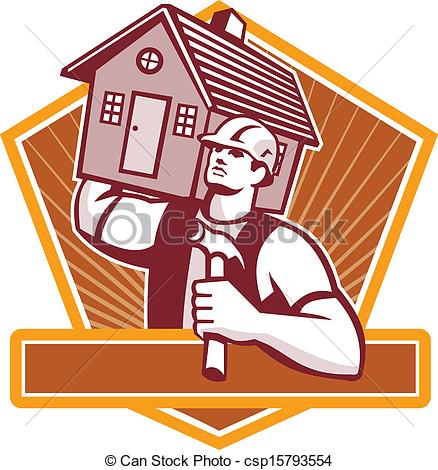 House Builder Clipart.