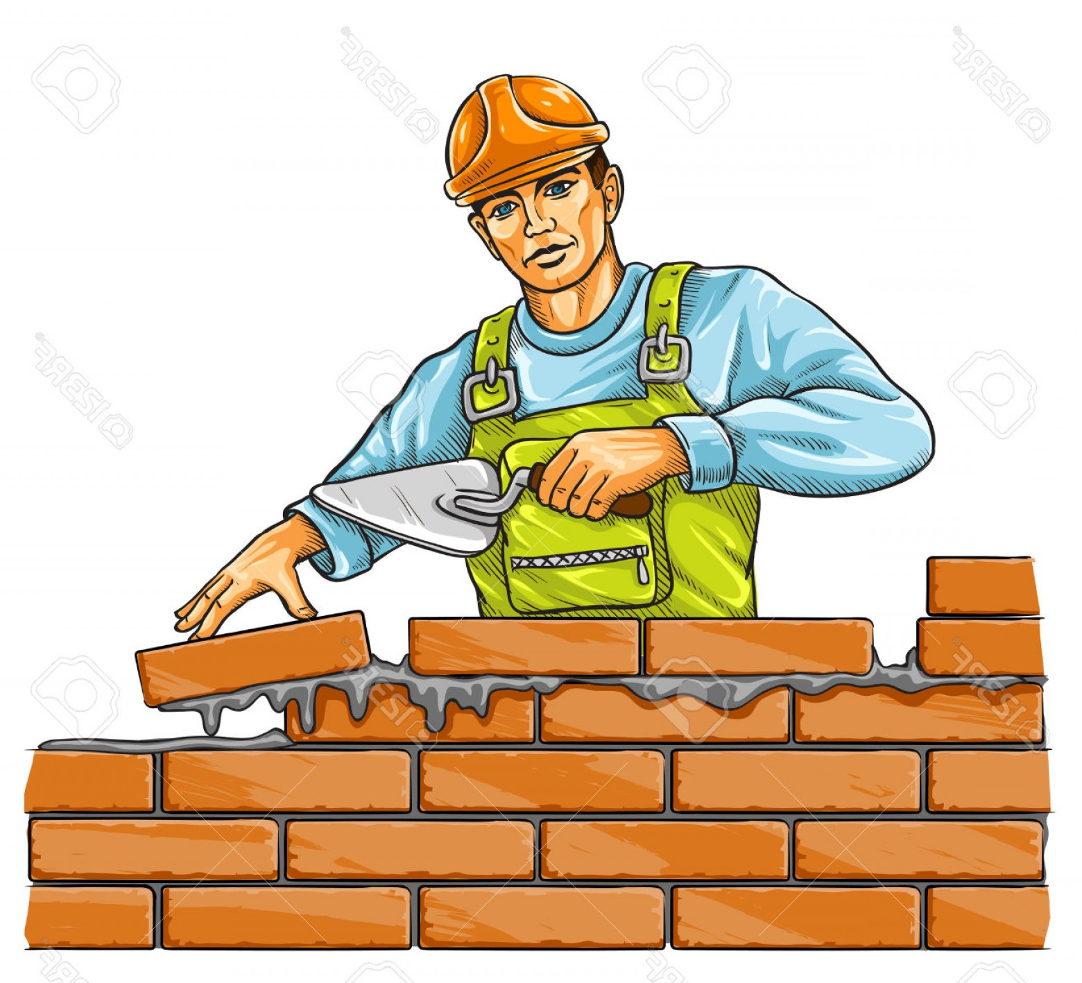 Top Housebuilder Vector Illustration.