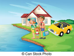 House By The Sea Clipart