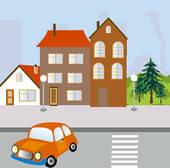 Illustrations of Pedestrian.