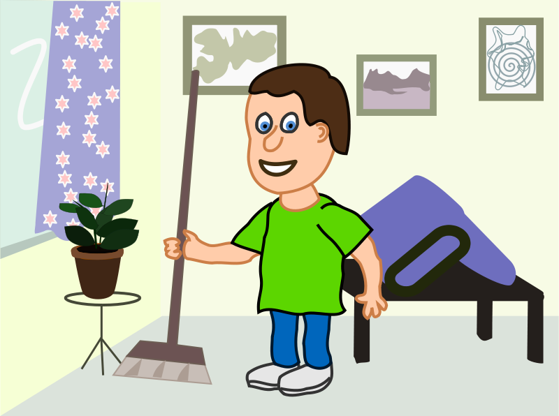 House Cleaning Cartoons.