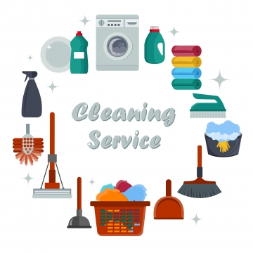 Cleaning Services PNG Images.