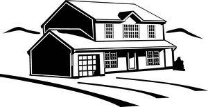 House Clipart Vector Graphics House Eps Clip Art Vector.