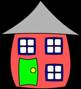 Cartoon House Clip Art at Clker.com.