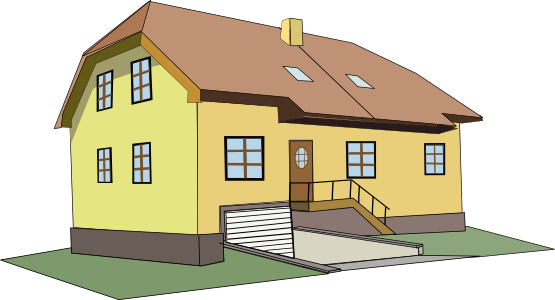 Free Big House Clip Art, House Images Free Clipart.