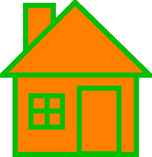 Orange House SVG Downloads.