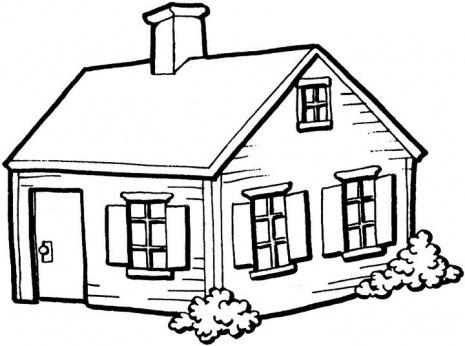 Free House Line Art, Download Free Clip Art, Free Clip Art.