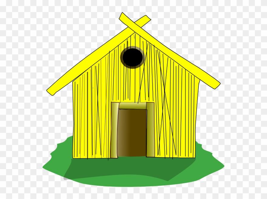 Original Png Clip Art File Straw House Svg Images.