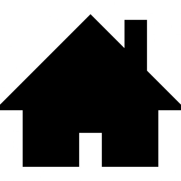 Home black silhouette Icons.
