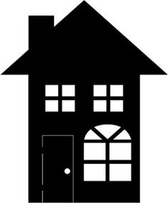 image of house Black Background Graphics.