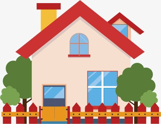 Cartoon House, House, Building, Cartoon Building PNG and.
