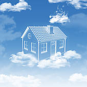 House Clouds Clipart Clipground