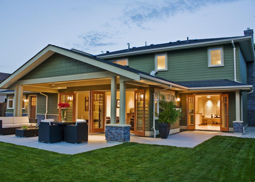 25+ Concrete Patio Outdoor Designs, Decorating Ideas.