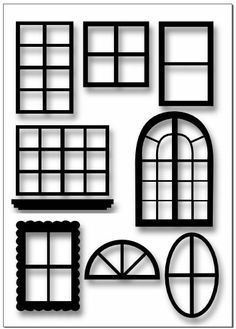 Windows & Doors Template by Hot Off The Press Inc (4107439).