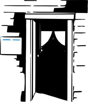 House Door Clipart.