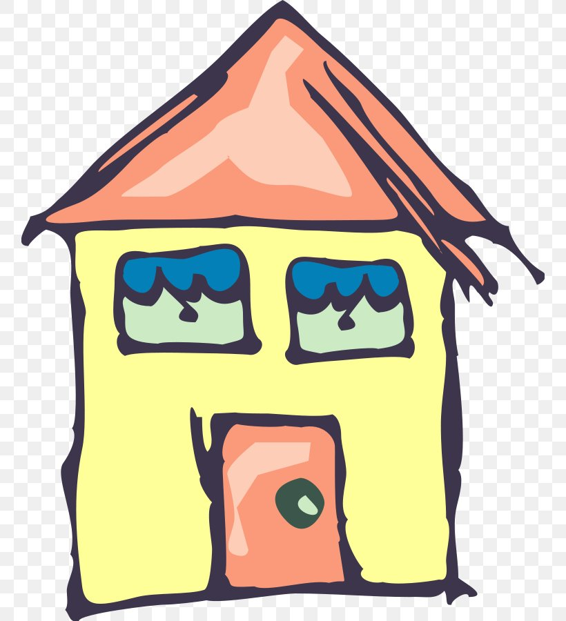 House Drawing Building Clip Art, PNG, 758x900px, House, Area.
