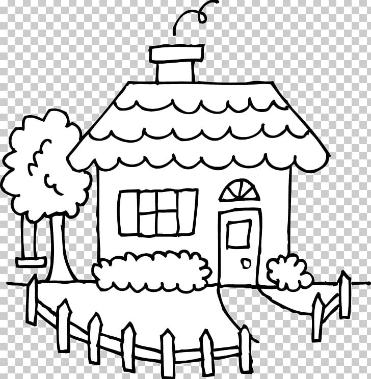 House Drawing Black And White PNG, Clipart, Area, Art White.