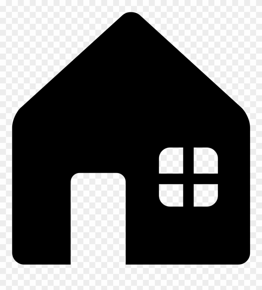 House Emoji Png Black N White , Png Download Clipart.