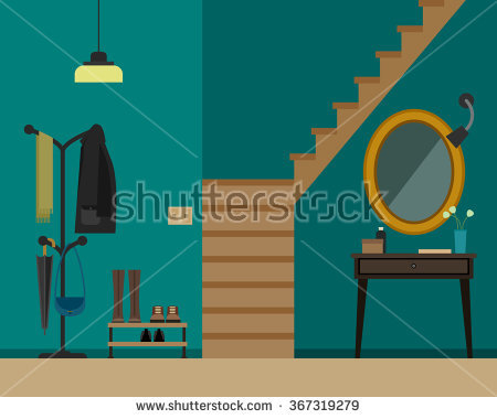 House Entrance Hall Stock Vectors, Images & Vector Art.