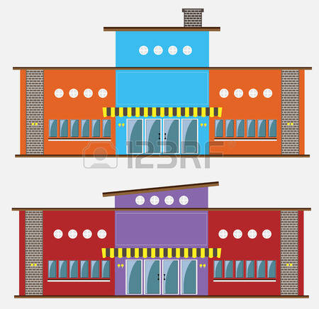 21,580 House Facade Stock Vector Illustration And Royalty Free.