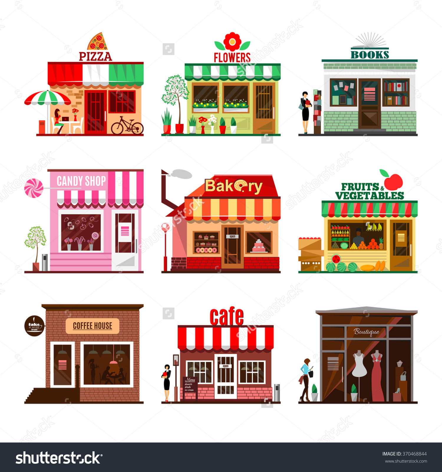 Front Architecture Stock Vectors & Vector Clip Art.